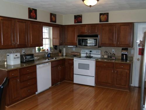 Dekoration und Bastelideen für alte Küchenschränke