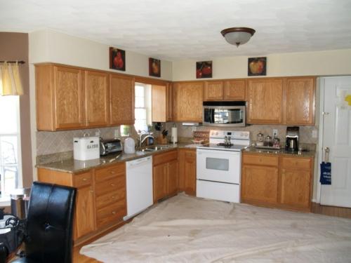 Bastelideen für alte Küchenschränke holz möbel spüle