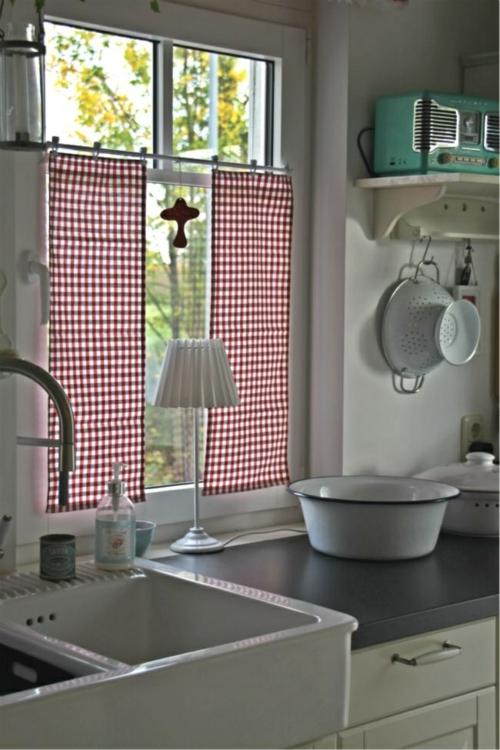 Baumwollstoff  Vintage Stil küche spüle lampe