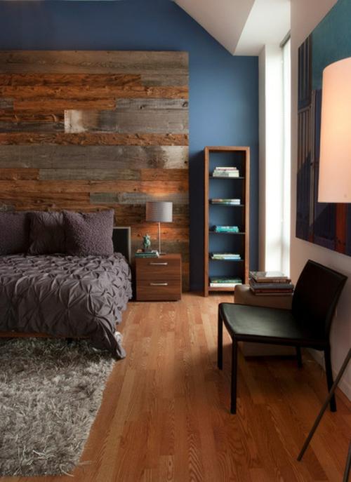 Inspiration Zur Einrichtung Schlafzimmer Holzwand ~ Die Besten ...