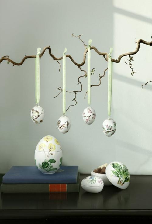 Coole Ostereier basteln und bemalen dekorativ