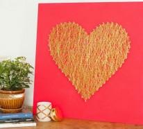 DIY Deko zum Valentinstag – Lassen Sie Ihrer Kreativität freien Lauf !