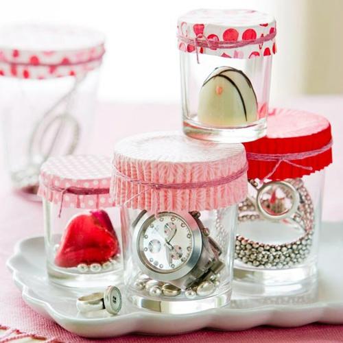 DIY Dekoartikel zum Valentinstag juween aufzeigen handuhr
