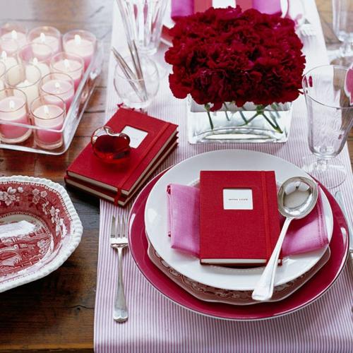 DIY Dekoartikel zum Valentinstag tischdeko rot tagesbuch