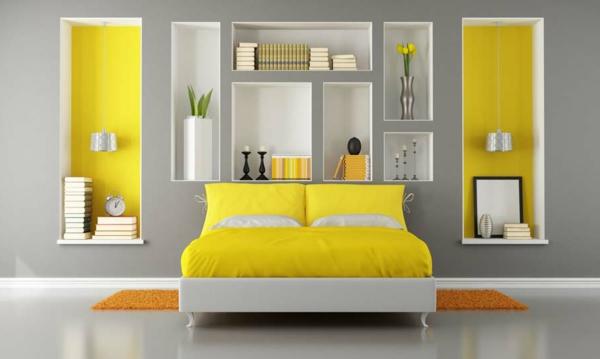 schlafzimmer gestalten gelb ? photodog.info - Schlafzimmer Gelb Grau