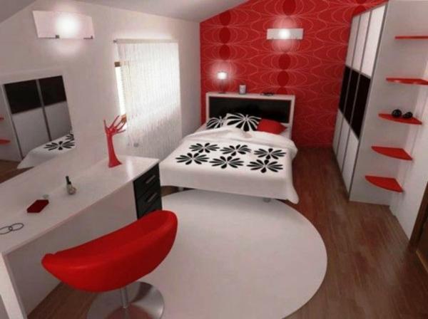 schlafzimmer einrichten rot ? marikana.info - Schlafzimmer Schwarz Weis Gestalten