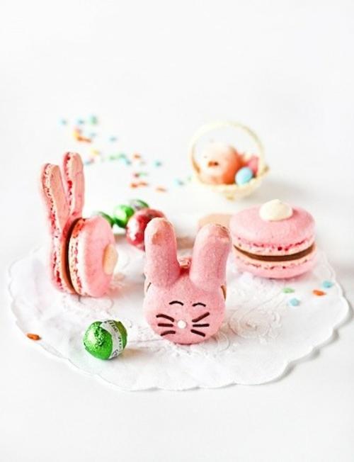 Der Osterhase als Dekoration Ostern süßigkeiten
