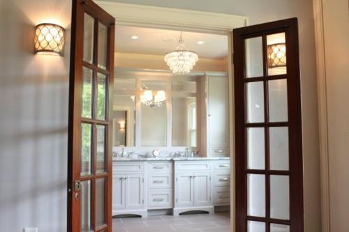 Die Holztür sanieren glas rahmen flur wohnzimmer