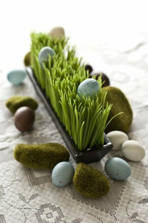 Eierhalter und Ständer zu Ostern basteln klein