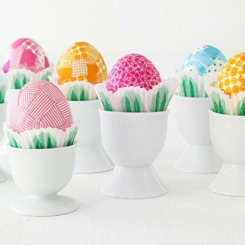 Eierhalter und Ständer zu Ostern basteln weiß keramisch