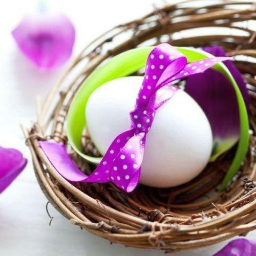 Eierhalter und Ständer zu Ostern basteln zierband