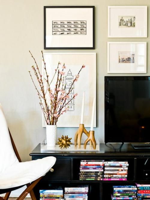 Sideboards & Kommoden für Wohnzimmer dekoartikel zweige vase