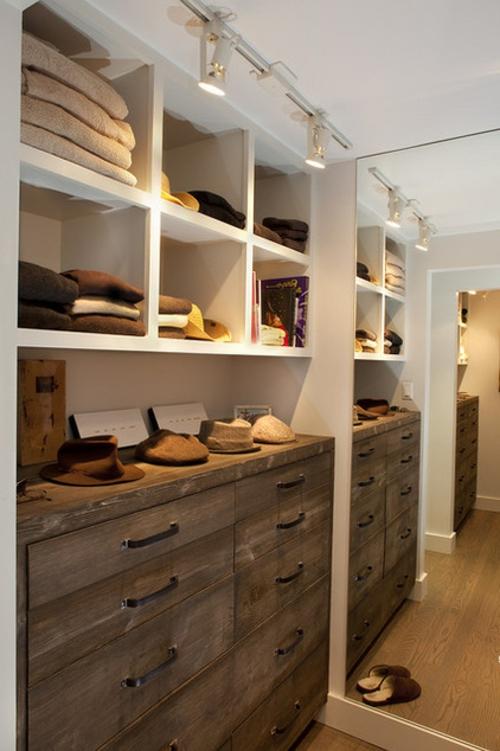 Einrichtungsideen für Wandschrank ankleideraum schubladen