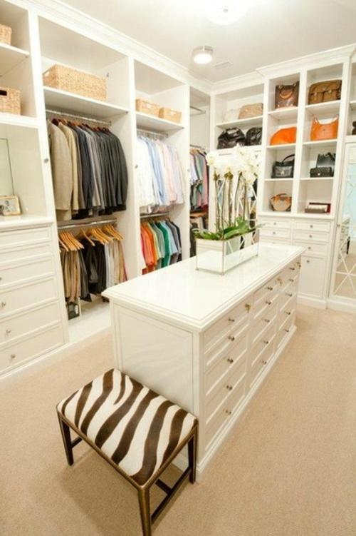 Einrichtungsideen für Wandschrank ankleideraum weiß möbel
