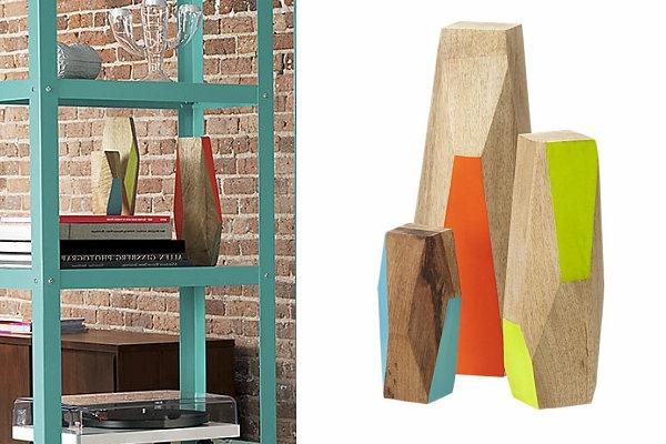 Einrichtungsideen für kleine Hütten geo form farben bunt