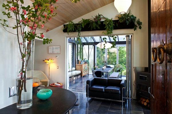 Einrichtungsideen-für-kleine-Hütten-modern-innendesign