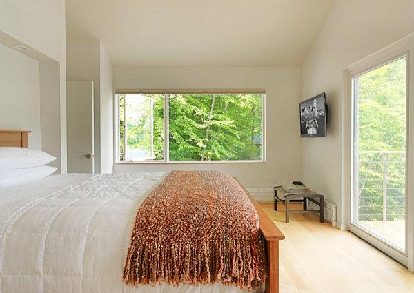 Einrichtungsideen für kleine Hütten schlafzimmer klein