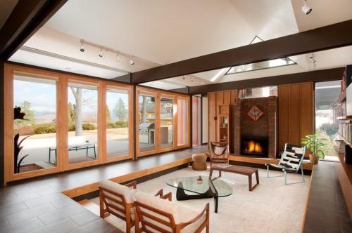 15 Einrichtungsideen Für Offene Räume -einen Raum Ohne Wände Gestalten Einrichtungsideen Wohnzimmer Mit Balken