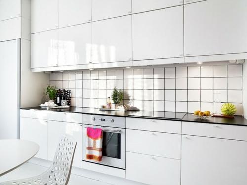 Einrichtungsideen für schwedische Wohndeko fliesen küche
