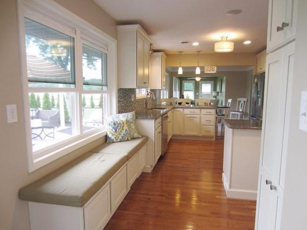 Küchenblock mit sitzbank  Esstisch mit Sitzbank