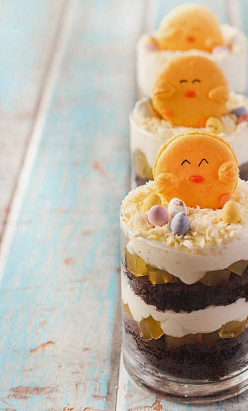 Festliche Dekoideen zu Ostern plätzchen gesichter