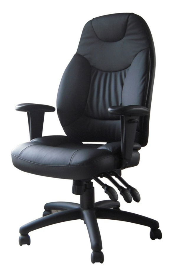 Günstige Bürostühle und Bürosessel schwarz breite lehne