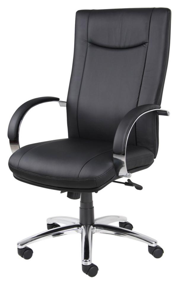 Günstige Bürostühle und Bürosessel schwarz office büro leder