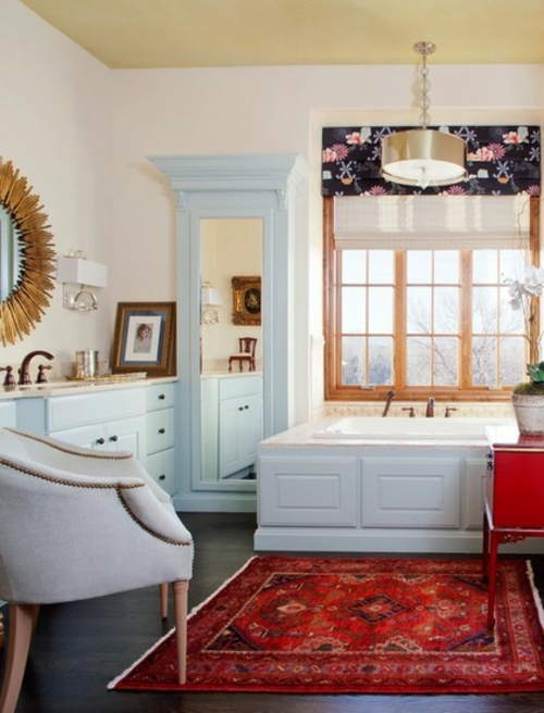 Innenarchitekt design fenster badezimmer badewanne