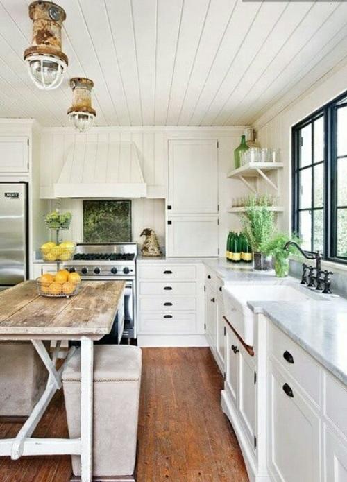 Küche im Landhausstil gestalten - rustikaler Touch zu Hause