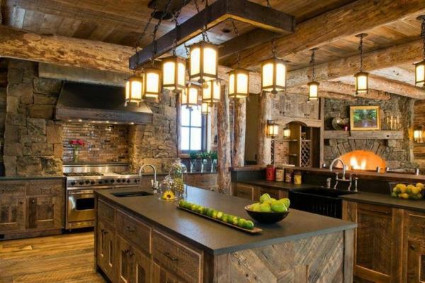 Waschbecken küche stein  Küchen Designs mit Naturstein gestaltet