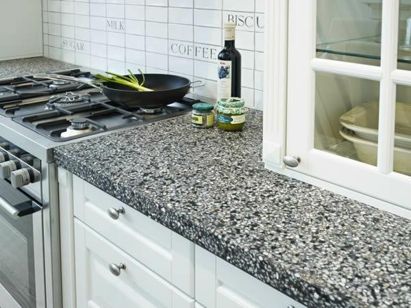 arbeitsplatte eiche holz kochen schubladen Küchen