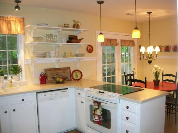 Küchenschrank  Küchenregal organisieren regale fenster esstisch stühle