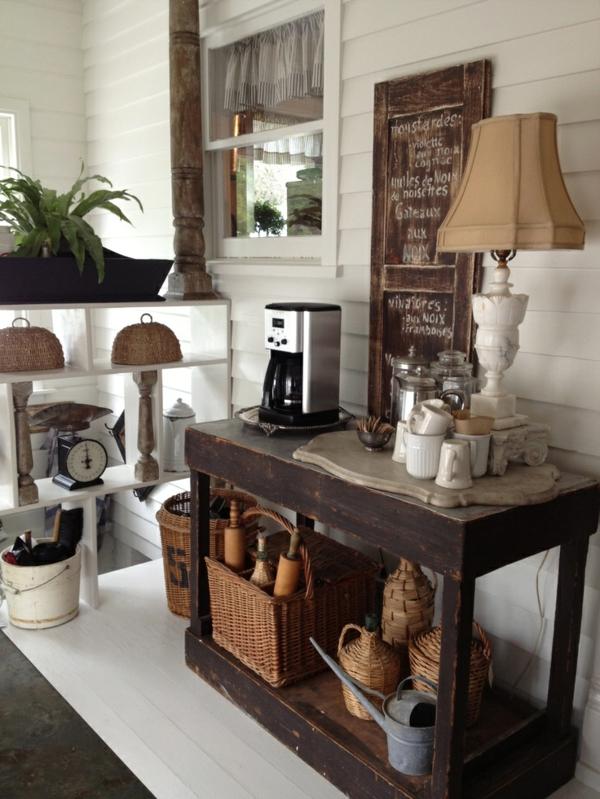 Kaffeebar in ihrer k che gestalten die kaffeezeit zu hause genie en Home decor hacks pinterest