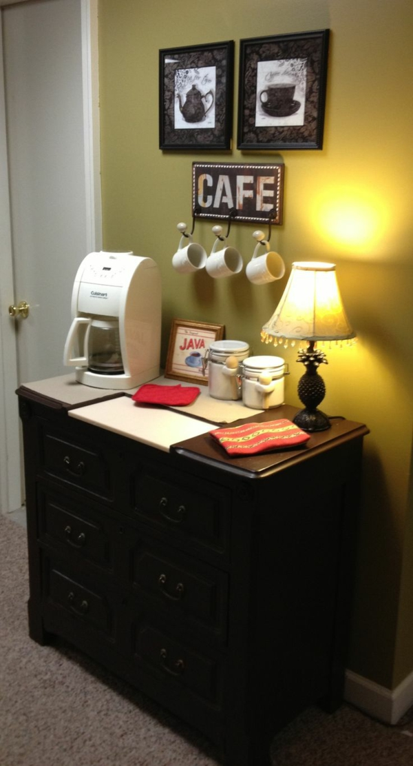 Kaffeebar  Küche gestalten vintage motive
