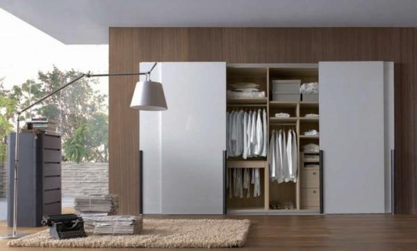 Kleiderschrank mit Schiebetüren modern wohnzimmer robust