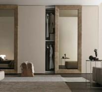 Möbel für modische Frauen: Der Kleiderschrank mit Schiebetüren