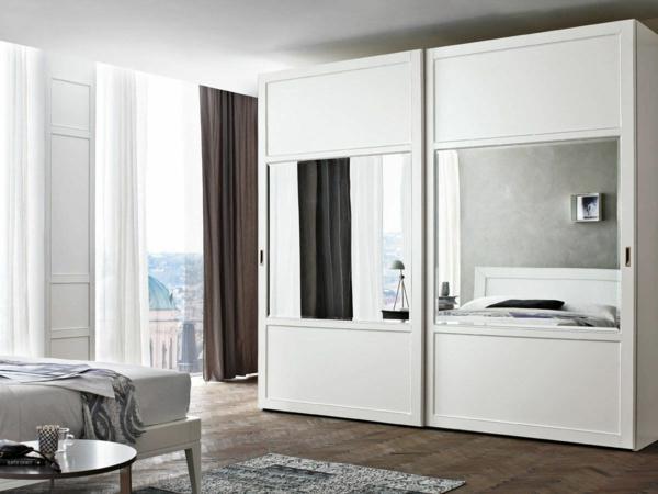 Kleiderschrank mit Schiebetüren schlafzimmer