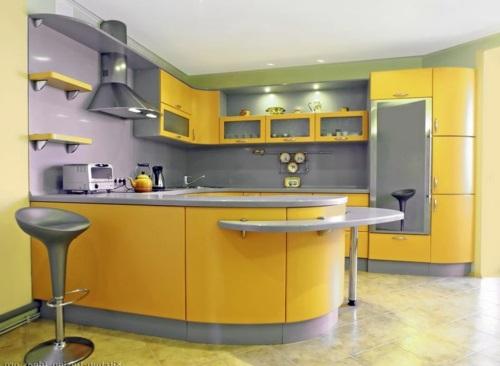 Leuchtende gelbe kuchen holen sie die sonne ins haus for Gelbe küche