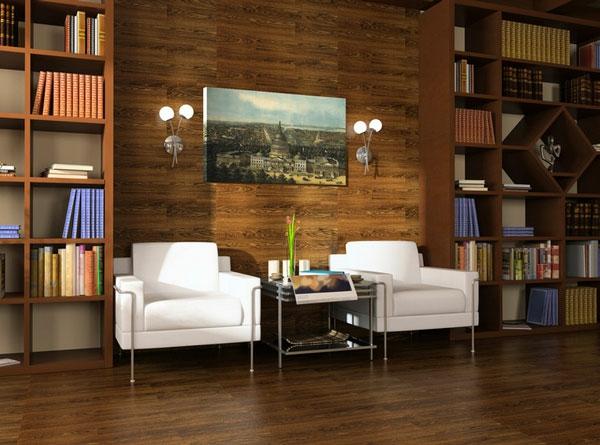Möbel fürs Wartezimmer gepolstert bequem sofa weiß bücher