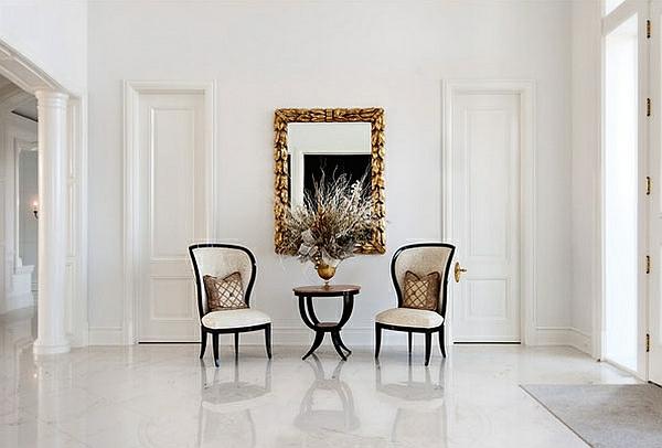 Möbel fürs Wartezimmer gepolstert bequem stuhl klassisch nebentisch