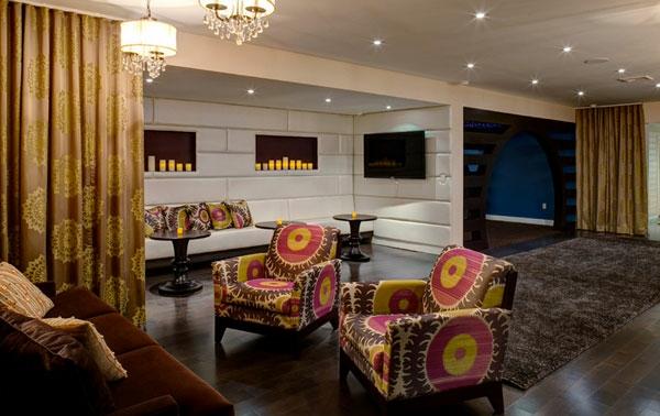 Möbel fürs Wartezimmer gepolstert gemustert lebhaft interessant sessel