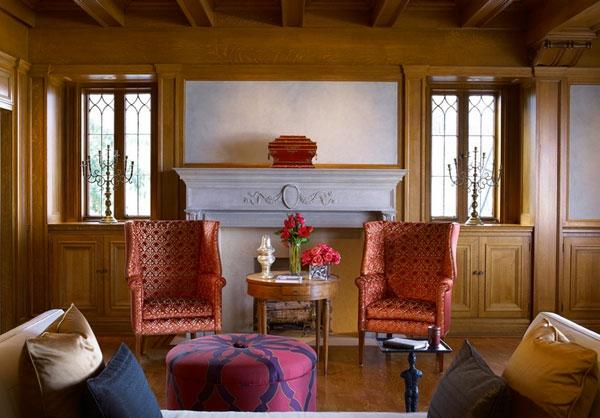 Möbel Wartezimmer gepolstert sessel nebentisch