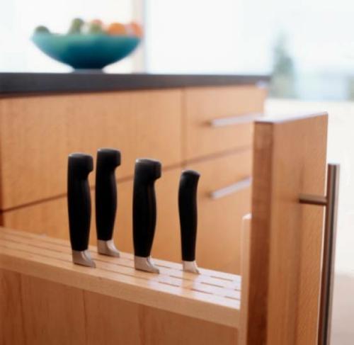 Messerblock für Küchenmesser küche einrichtung