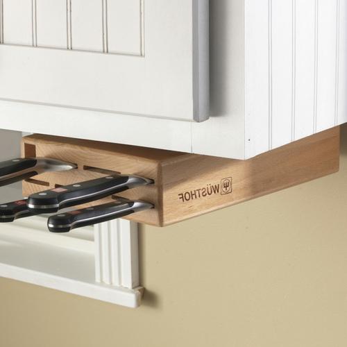 Messerblock für Küchenmesser unter oberschrank