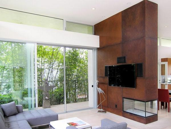 Wohnzimmer und Kamin : deko brunnen wohnzimmer ~ Inspirierende ...
