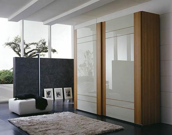 Moderne Kleiderschränke und Garderoben teppich glanzvoll
