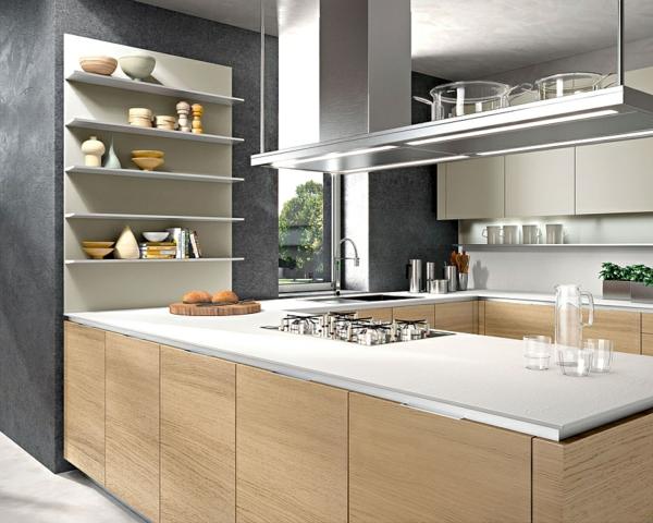 moderne italienische k che bietet einen funktionalen stauraum. Black Bedroom Furniture Sets. Home Design Ideas