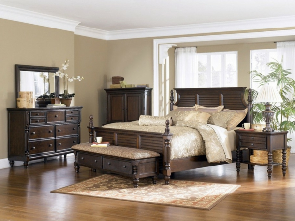 einrichtungsideen schlafzimmer braun. Black Bedroom Furniture Sets. Home Design Ideas