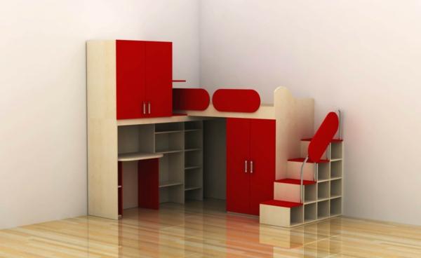 multifunktionales schlafzimmer gestalten f r kleine. Black Bedroom Furniture Sets. Home Design Ideas
