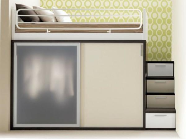 Multifunktionales Schlafzimmer gestalten - für kleine ...